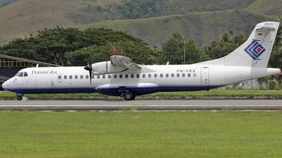 PK-YRX - ATR 72-202 - Trigana Air Service