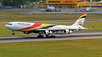 OO-ABD - Airbus A340-313E - Air Belgium