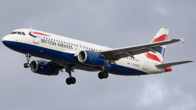 A picture of GEUUH - Airbus A320232 - British Airways - © Robert Smith