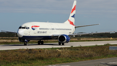 ZS-OTG - Boeing 737-436 - British Airways (Comair)