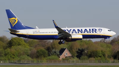 EI-DWV - Boeing 737-8AS - Ryanair