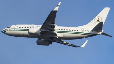 5N-FGT - Boeing 737-7N6(BBJ) - Nigeria - Air Force