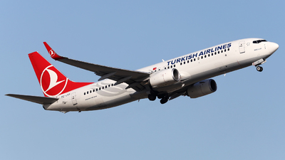 A picture of TCJVI - Boeing 7378F2 - Turkish Airlines - © Firat Cimenli