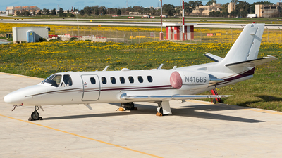 N416BS - Cessna 560 Citation Ultra - Private