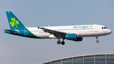 A picture of EIDVL - Airbus A320214 - Aer Lingus - © Airlinergeek