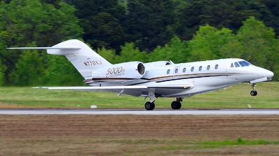 N770XJ - Cessna 750 Citation X - Private