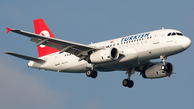 TC-JLP - Airbus A319-132 - Turkish Airlines