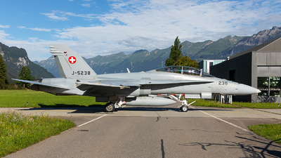 J-5238 - McDonnell Douglas F/A-18D Hornet - Switzerland - Air Force