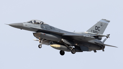 87-0320 - Lockheed Martin F-16C Fighting Falcon - United States - US Air Force (USAF)