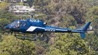 N29LB - Eurocopter AS 350B2 Ecureuil - United States - Long Beach Police Department
