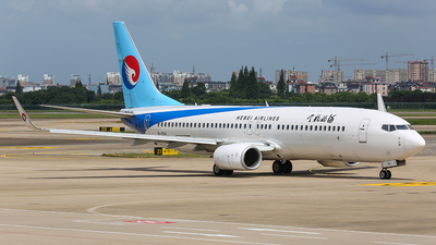 A picture of B1561 - Boeing 7378LW - Hebei Airlines - © TMC_LOU8