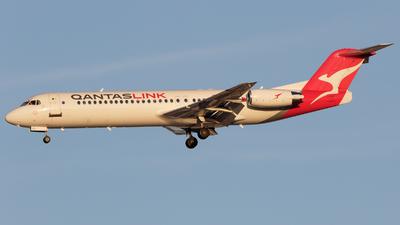 VH-NHQ - Fokker 100 - QantasLink (Network Aviation)