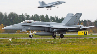 HN-420 - McDonnell Douglas F-18C Hornet - Finland - Air Force