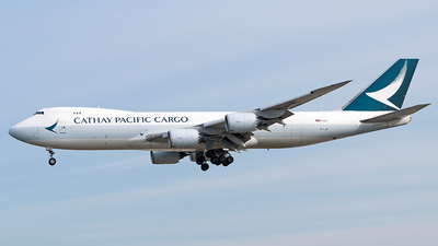 B-LJB - Boeing 747-867F - Cathay Pacific Cargo