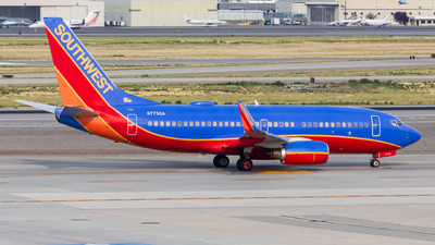A picture of N7730A - Boeing 7377BD - Southwest Airlines - © Micah Vobora