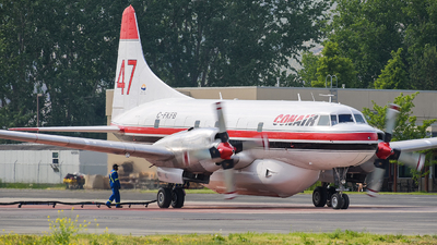 C-FKFB - Convair CV-580 - Conair Aviation