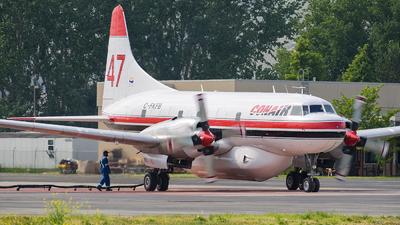 A picture of CFKFB - Convair CV580 - Conair - © Santiago Arias