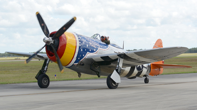 N4747P - Republic P-47D Thunderbolt - Private