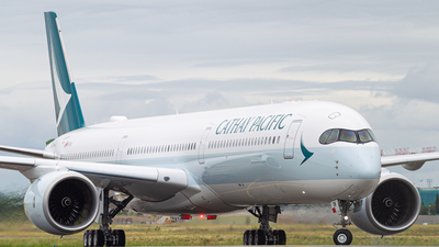 F-WZGQ - Airbus A350-1041 - Cathay Pacific Airways