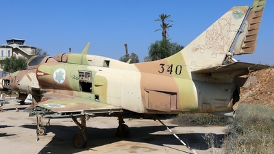 340 - McDonnell Douglas A-4N Ayit - Israel - Air Force