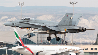 C.15-26 - McDonnell Douglas EF-18M Hornet - Spain - Air Force