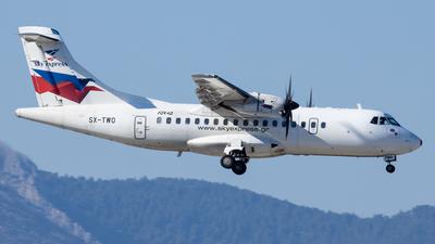 A picture of SXTWO - ATR 42500 - Sky Express - © Kostas Marmarelis