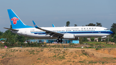 B-1585 - Boeing 737-81B - China Southern Airlines