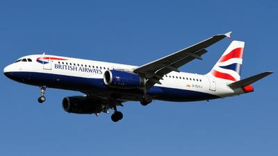 G-EUYJ - Airbus A320-232 - British Airways