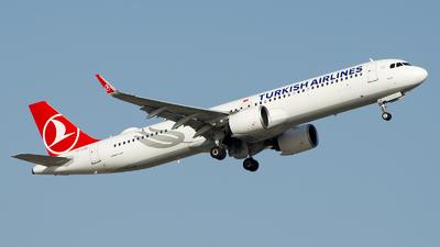 TC-LSB - Airbus A321-271NX - Turkish Airlines