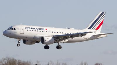A picture of FGRHN - Airbus A319111 - Air France - © Marcin Dobek