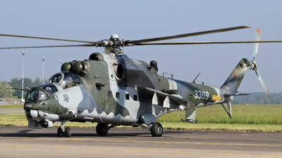 3369 - Mil Mi-35M Hind - Czech Republic - Air Force