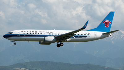 A picture of B1286 - Boeing 73781B - China Southern Airlines - © Yerbol Yespol - Kazakhstan Spotting Club