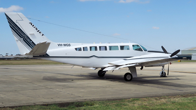 VH-WGS - Cessna 404 Titan - Australasian Jet