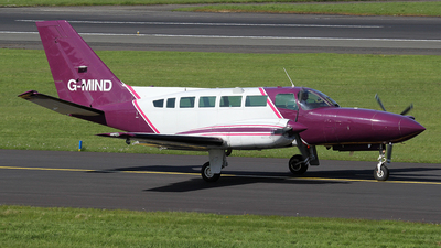 A picture of GMIND - Cessna 404 Titan -  - © Ian Howat