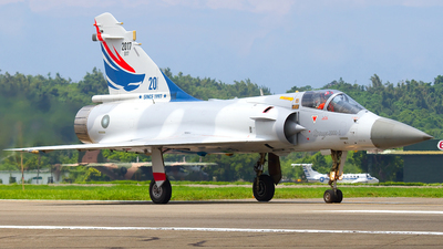2017 - Dassault Mirage 2000-5EI - Taiwan - Air Force