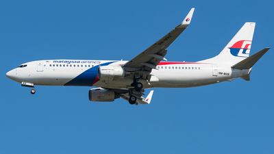 9M-MXE - Boeing 737-8H6 - Malaysia Airlines