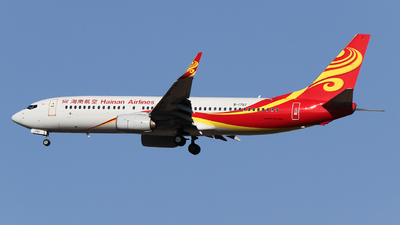 B-1797 - Boeing 737-84P - Hainan Airlines