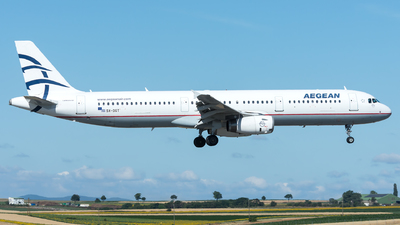 A picture of SXDGT - Airbus A321231 - Aegean Airlines - © Gerhard Zant
