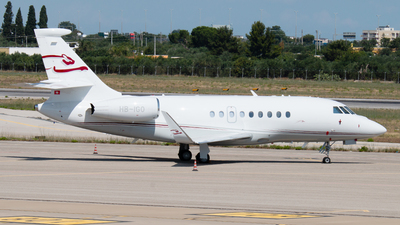 HB-IGO - Dassault Falcon 2000LX - Private
