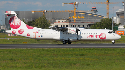 SP-SPC - ATR 72-200 - Sprint Air - Flightradar24