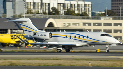 N350HH - Bombardier BD-100-1A10 Challenger 350 - Private