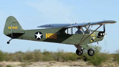 A picture of N1115 - American Legend Classic Cub - [AL1042] - © Jeremy D. Dando