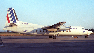 F-BSUO - Fokker F27-500 Friendship - Air France