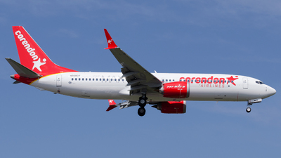 N56807 - Boeing 737-8 MAX - Corendon Airlines