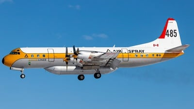 C-GZVM - Lockheed L-188A Electra - Air Spray