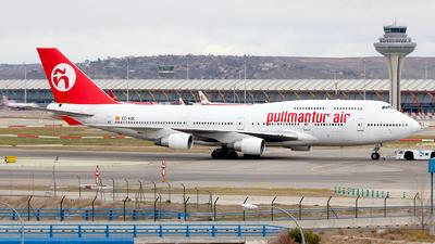 EC-KQC - Boeing 747-412 - Pullmantur Air