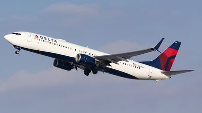 A picture of N911DQ - Boeing 737932(ER) - Delta Air Lines - © John Newsome