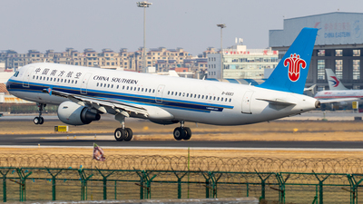 B-6683 - Airbus A321-211 - China Southern Airlines