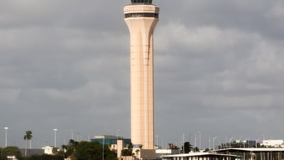 KMIA - Airport - Control Tower