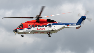 A picture of LNOQR - Sikorsky S92A - CHC Helikopter Service - © Richard Toft